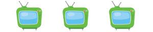 TV Interview graphic element