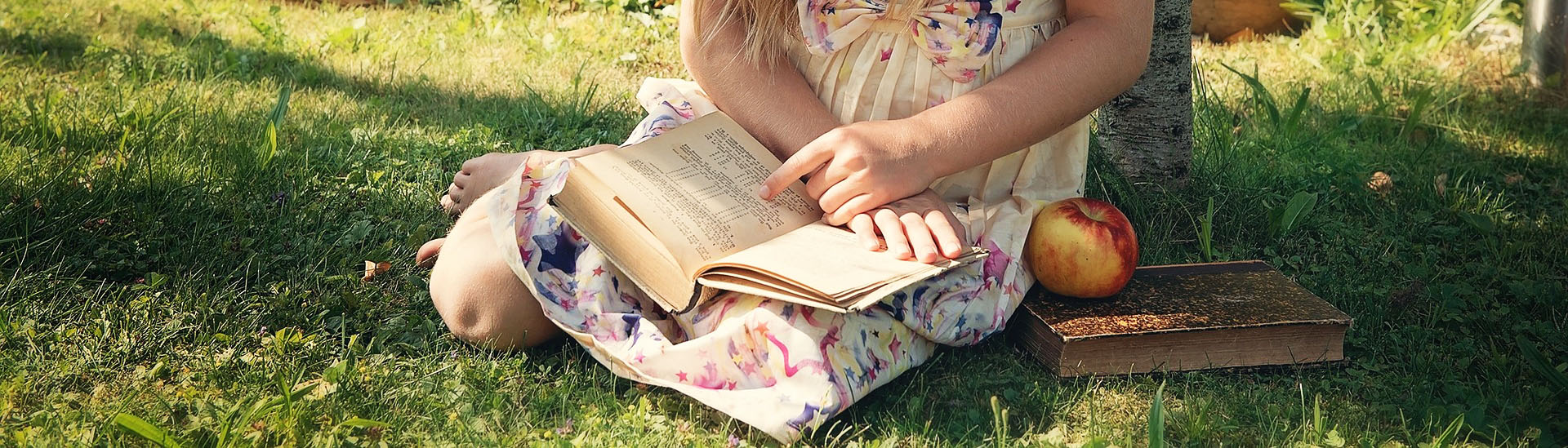 Resources & References, girl reading