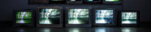 Television Interview graphic element
