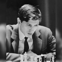 Bobby Fischer playing Chess