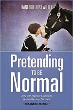 Book Cover - Pretending to Be Normal