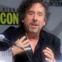 Tim Burton at ComicCon 2009