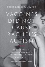 Book Cover - Vaccines Did Not Cause Rachel's Autism